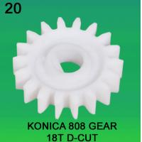 Quality GEAR TEETH-18 D-CUT FOR KONICA 808 MODEL minilab wholesale