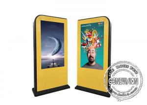 China 55 Inch IP65 IR Touch LCD Display Floor Stand Kiosk on sale