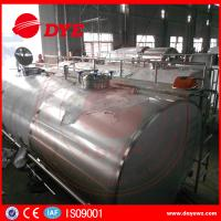 Cheap Stainless Steel Milk Cooling Tank Truck For Milk Transportation for sale