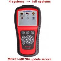 Quality Intelligent Heavy Duty Truck Diagnostic Scanner MD701 / MD702 / MD703 / MD704 for 4 Systems to Full Systems wholesale