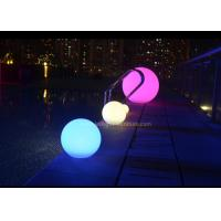 China 40cm Waterproof LED Ball Lights Outdoor for Swimming Pool Decoration on sale