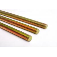 Quality Left Hand All Thread Rod High Holding Power Yellow Surface Easy Install wholesale