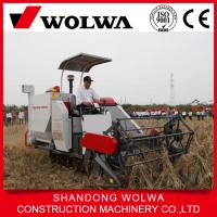 Quality reaper binder-mini rice combine harvester with hydraulic unloading wholesale