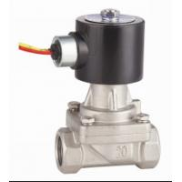 Quality 2 Inch SS Hot Water Solenoid Valve NC , High Temperature Solenoid Valve wholesale