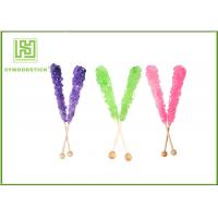 Quality Custom Decorative Cake Pop Sticks , Wood Round Sticks For Cotton Candy wholesale