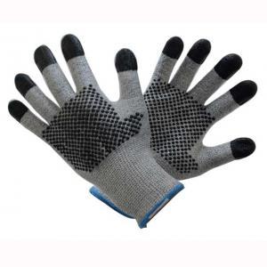 China Elasticated Cuff Anti Cut Gloves  , Lightweight Cut Resistant Gloves Standard Finish on sale