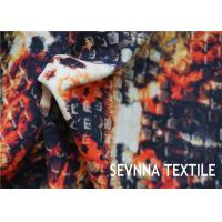 Quality Eco Recycled Floral Polyester Fabric Uv Protect 50+ Chlorine - Resistance wholesale