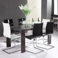 Quality Dining table with MDF and high glossy and high-quality painting and high-quality hardware wholesale