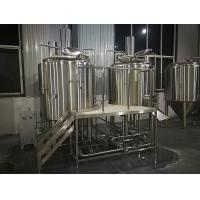 Quality 500L Complete Beer Brewing System , Electric Heating Commercial Beer Equipment wholesale