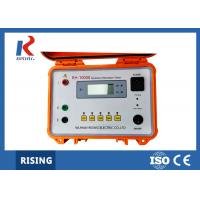 China Digital Insulation Resistance Test Equipment RH1000 Ohm meter for HV Product on sale