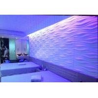 Cheap Vinyl 3d Wall Panel Colored PVC Wall Coverings for Indoor Screen Laminated Wall Board for sale