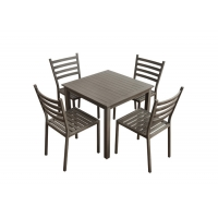 Quality Dia 28*1.5mm Aluminum Tube Commercial Outdoor Dining Furniture wholesale