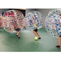 Quality Indoor Sport Game Hamster Ball For Kids , Inflatable Soccer Bubble Ball wholesale