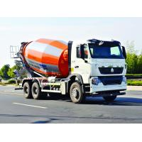 Quality ISO Concrete Mixer Truck With Pump , Mobile Industrial Concrete Mixing Equipment wholesale