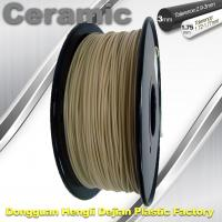 Quality Surface Light / Ceramic Texture  3d Printing Filament Materials Plastic Strips wholesale