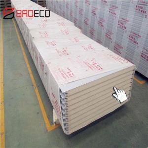 China China Reliable Manufacturer PU Foam Sandwich Wall Panels on sale