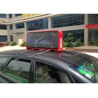 China Outdoor Full Color Taxi LED Display PH5 with 12288 Pixels Each Side and W 32 x H 32 dots Module on sale