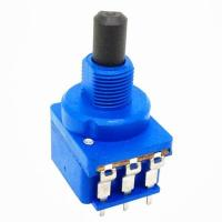 China Solder Terminal Dimmer Carbon Composition Potentiometer SPDT With Push Switch on sale