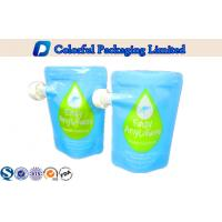 China Stand Up Zippper Spout Pouch for Liquid  , Spout Bags for Beverage Packaging on sale
