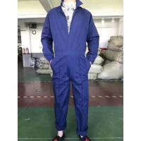 Buy cheap men's full sleeve jumpsuit work wear short sleeve working clothes boilersuit S to XXXL blue color Stock commodities from wholesalers