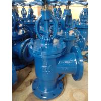 Quality CL600 CL900 PN 16 RTJ CS/SS A216 WCB CF8M/SS316 Flanged Angle / vertical Type Globe Valve / 90 Degree wholesale