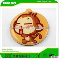 Cheap ISO 14443A mini active rfid waterproof laundry tag/sticker for sale