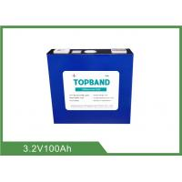 Quality 3.2V 100Ah Rechargeable Lifepo4 Battery TB_32173195E_100Ah_LFP For Telecoms Industry wholesale