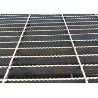 Quality Q235 Carbon Steel Bar Grating , Galvanised Steel Grating Flooring ISO9001 Approval wholesale