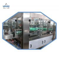 China 2000kg Carbonated Drink Filling Machine For Aluminum Cans 18 Filling Head on sale