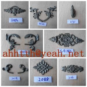 Quality cast iron fence decorate wholesale