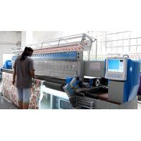 China Professional Industrial Embroidery Machines 3353 Mm Embroidery Width , Minimum Operating Noise on sale