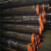 Quality Round Seamless Alloy Steel Pipe , Mild Steel Seamless Tube With Hydraulic Testing wholesale