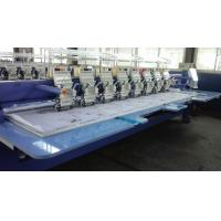 China Multi Needle Embroidery Machine , Industrial Monogramming Machine For Bed Sheet on sale