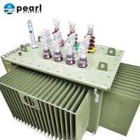 Cheap 50-60 Hz Three Phase Transformer , Oil Immersed Power Transformer Long Life Span for sale