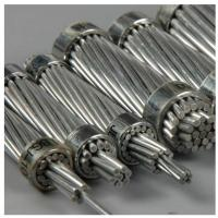 China Non - Specular Finish Aluminum Stranded Conductor For Overhead Transmission Lines on sale