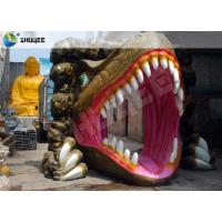Quality Dinosaur Designed Cabin 5D Cinema Equipment With Comfortable Chairs wholesale