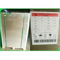 China 1mm 1.5mm 2mm Grey Chipboard Paper Sheets Black Laminated FSC Grey Board on sale