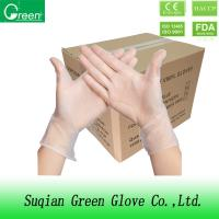 Quality 9 Inch Medical Grade Disposable P Free Vinyl Gloves For Hand Protection wholesale