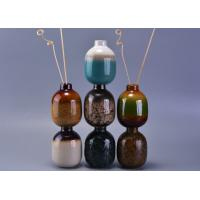 Transmutation Glazed Aromatic Reed Diffuser Bottle Set of 7 colors