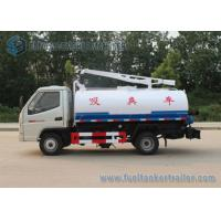 Quality T-king 4x2 Mini Fecal Suction Truck Vacuum Sewage Suction Truck 1000 Gallons wholesale