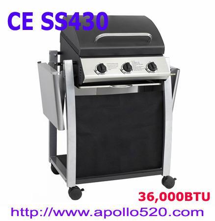 Cheap BBQ Griller 3 burner for sale