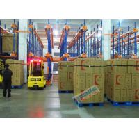 Quality Warehouse Automated Radio Shuttle Racking Cold Supply Chain Pallet Shuttle System wholesale