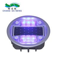 Quality Led Warning Lane Marker Solar Road Stud Lights Waterproof IP68 Aluminum Alloy wholesale