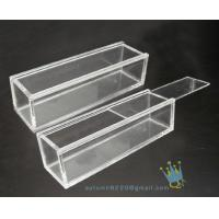 Quality BO (157) rectangular clear acrylic display case wholesale