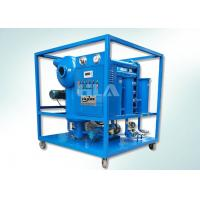 Quality Double Stages Insulating Transformer Oil Purification Machine With Leybold Pumps wholesale