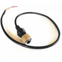 China Commercial Vehicle Backup Camera Extension Cable , 6 PIN MiniDin Extension Cables on sale