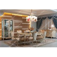 Quality Wooden Dining table and chairs luxury dining room sets LS-A801L-1 wholesale