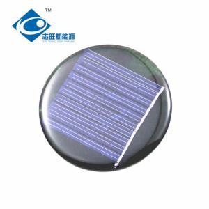 China 5V 0.25W Epoxy Resin Solar Panel for educational solar robot ZW-R58 risen energy solar panels on sale