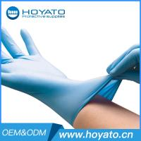 Buy cheap Wholesale HOYATO clean room Blue Nitrile Gloves from wholesalers
