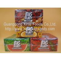 Quality Square Sweet Big Blast Bubble Gum Candy With Fruit Flavor , 4 G * 100 Pcs wholesale
